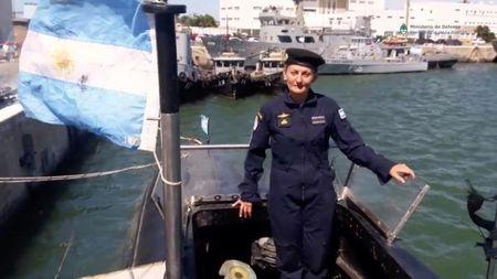 argentina s first female submarine officer on board missing vessel