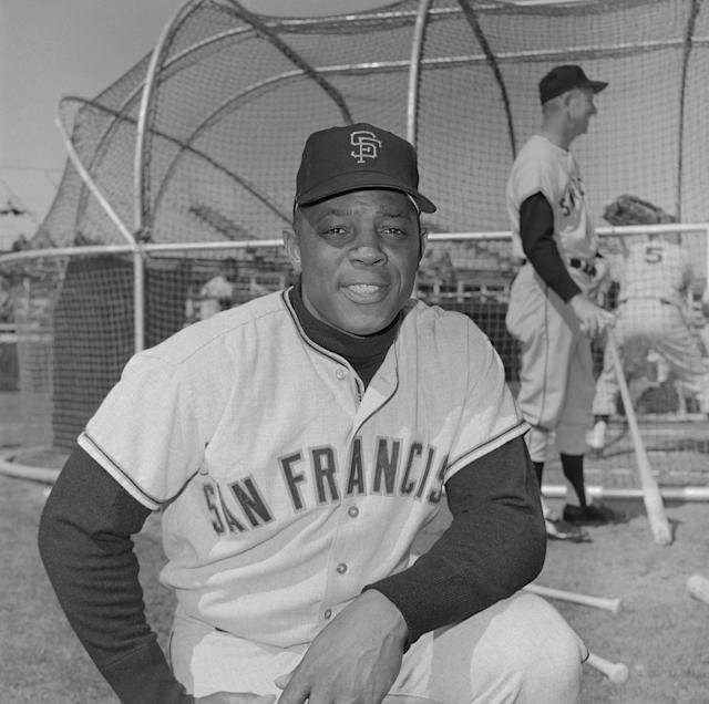 Willie Mays tops our list of baseball's greatest center fielders. (Getty Images)