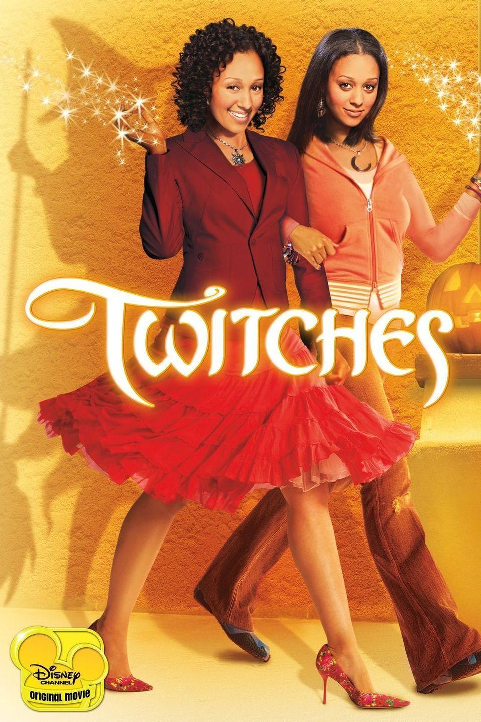 """<p>If you loved the classic '90s sitcom <em>Sister, Sister</em>, then you'll love <em>Twitches.</em> In a lot of ways, the storyline is basically the same thing ... but with magic. In this film, Alex and Camryn (<strong>Tia Mowry-Hardrict </strong>and<strong> Tamera Mowry-Housley</strong>) reunite and find out they're witches who must save the magical kingdom where they were born.</p><p><a class=""""link rapid-noclick-resp"""" href=""""https://go.redirectingat.com?id=74968X1596630&url=https%3A%2F%2Fwww.disneyplus.com%2Fmovies%2Ftwitches%2F3jmJ2lNPGpS7&sref=https%3A%2F%2Fwww.goodhousekeeping.com%2Flife%2Fentertainment%2Fg33651563%2Fdisney-halloween-movies%2F"""" rel=""""nofollow noopener"""" target=""""_blank"""" data-ylk=""""slk:WATCH NOW"""">WATCH NOW</a></p>"""