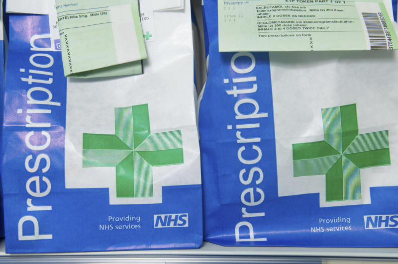 Prescriptions UK. (Photo by: Photofusion/Helen Stone/Universal Images Group via Getty Images)