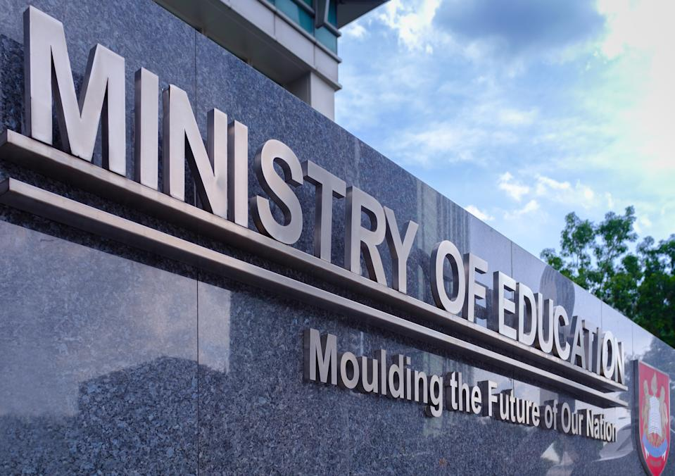 Singapore's Ministry of Education. (Photo: Getty)