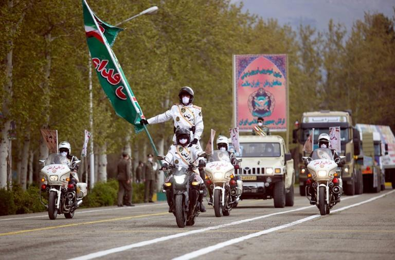 Iran held its annual Army Day parade last week despite the deadly coronavirus outbreak (AFP Photo/-)