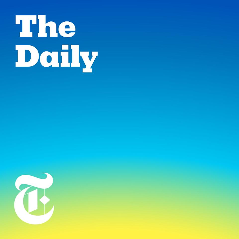 """<p>You can learn a LOT in 20 minutes, and the <em><a href=""""https://www.nytimes.com/column/the-daily"""" target=""""_blank"""">New York Times</a>'</em> podcast is short enough to listen to on your morning commute or treadmill session. Monday through Friday, host Michael Barbaro and his guests fill listeners in on stories such as """"The President and the Census"""" and """"The Plan to Elect Republican Women.""""</p><p><em>The Daily </em>offers <em></em>on-the-ground looks at the current state of partisan difference in America; a 2018 episode titled """"<a href=""""https://www.nytimes.com/2018/11/05/podcasts/the-daily/white-evangelical-women-trump-beto-texas.html"""" target=""""_blank"""">White Evangelical, and Worried About Trump</a>"""" features an uncomfortable immigration conversation between a young woman and her father that many families will likely relate to. </p><p><a class=""""body-btn-link"""" href=""""https://podcasts.apple.com/us/podcast/the-daily/id1200361736"""" target=""""_blank"""">Listen Now</a> </p>"""