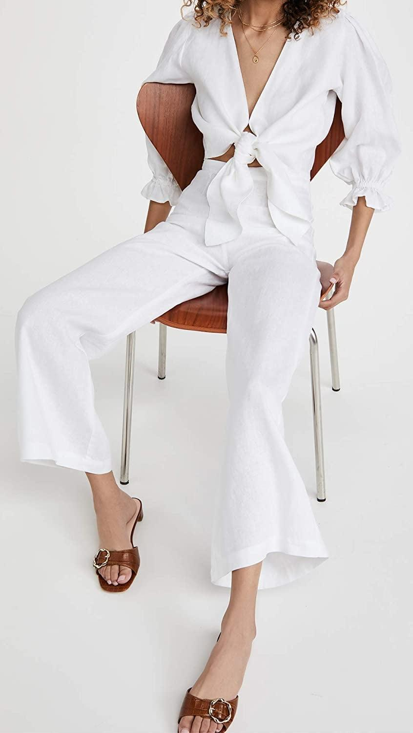 <p>These chic <span>Faithfull The Brand Sibyl Pants</span> ($209) are perfect for summer.</p>