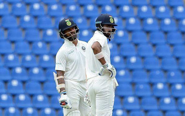 Dhawan and Rahul bettered the previous opening stand in Sri Lanka