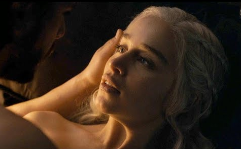 Her most recent scene with Jon Snow caused an uproar with fans. Source: HBO