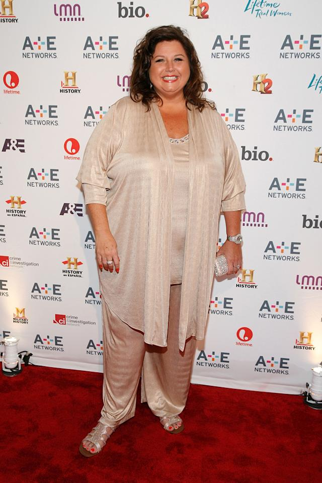 "Abby Lee Miller (Lifetime's ""Dance Moms"") attends the A&E Networks 2012 Upfront at Lincoln Center on May 9, 2012 in New York City."