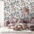 """<p>You can't go wrong with a floral living room wallpaper. Pick a bold and whimsical pattern to make a statement.</p><p>'Wallpaper can help make small spaces feel more intimate and add interest to larger rooms by creating another layer of pattern, and there is no rule regarding the scale of design – using a large design in a small environment can make a striking visual statement,' says Patrick O'Donnell, Brand Ambassador at <a href=""""https://go.redirectingat.com?id=127X1599956&url=https%3A%2F%2Fwww.farrow-ball.com%2F&sref=https%3A%2F%2Fwww.housebeautiful.com%2Fuk%2Fdecorate%2Fliving-room%2Fg35838996%2Fliving-room-wallpaper-ideas%2F"""" rel=""""nofollow noopener"""" target=""""_blank"""" data-ylk=""""slk:Farrow & Ball"""" class=""""link rapid-noclick-resp"""">Farrow & Ball</a>.</p><p>Pictured: Onism Ecru, <a href=""""https://www.woodchipandmagnolia.co.uk/products/onism-ecru-floral-wallpaper"""" rel=""""nofollow noopener"""" target=""""_blank"""" data-ylk=""""slk:Woodchip & Magnolia"""" class=""""link rapid-noclick-resp"""">Woodchip & Magnolia</a></p>"""