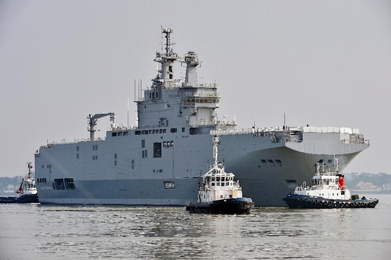 The fate of the two Mistral helicopter carriers has plagued France-Russia ties for more than a year