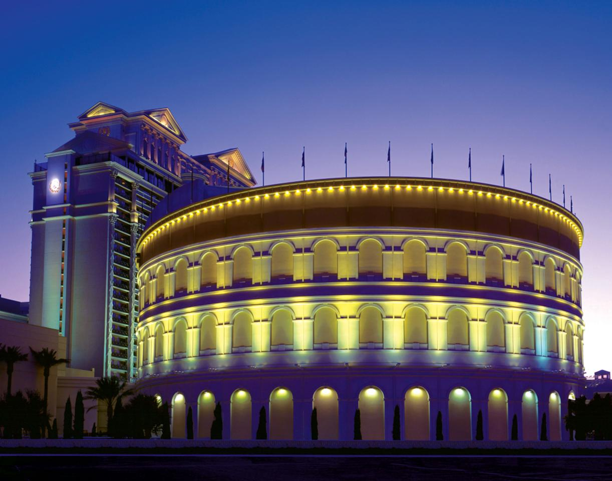 """<p><strong>Give us the big picture: What's the vibe of the place, what's it like?</strong><br> The Las Vegas replica of the ancient Colosseum in Rome is much, much smaller, but still one of the grandest theaters in town, with multiple levels of seating that house some 4,300 patrons.</p> <p><strong>What kinds of events can we see here?</strong><br> The Colosseum is a catch-all venue: It hosts special performances (by visiting musicians and comedians) as well as regular shows by artists-in-residence, including Mariah Carey, Journey, Rod Stewart, and country superstars Reba McEntire, Kix Brooks, and Ronnie Dunn. Audiences can count on career hits, plus covers of newer songs (like """"Uptown Funk,"""" by Bruno Mars) and tributes to artists like Prince.</p> <p><strong>How are the seats?</strong><br> In a theater of this size, the cheaper the ticket, the further away from the stage you'll be. If you really want to see a performer up close, splurge on a seat somewhere in the middle. But if that's not in your budget, rest assured you'll be able to see the person on the giant video screens.</p> <p><strong>Good for kids?</strong><br> Yes, you can bring kids.</p> <p><strong>If we're going to be in town, what—and who—do you think this is best for?</strong><br> Any show at the Colosseum is a great choice for special occasions like anniversaries and milestone birthdays.</p>"""