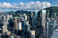 FILE PHOTO: FILE PHOTO: A general view of the financial Central district in Hong Kong