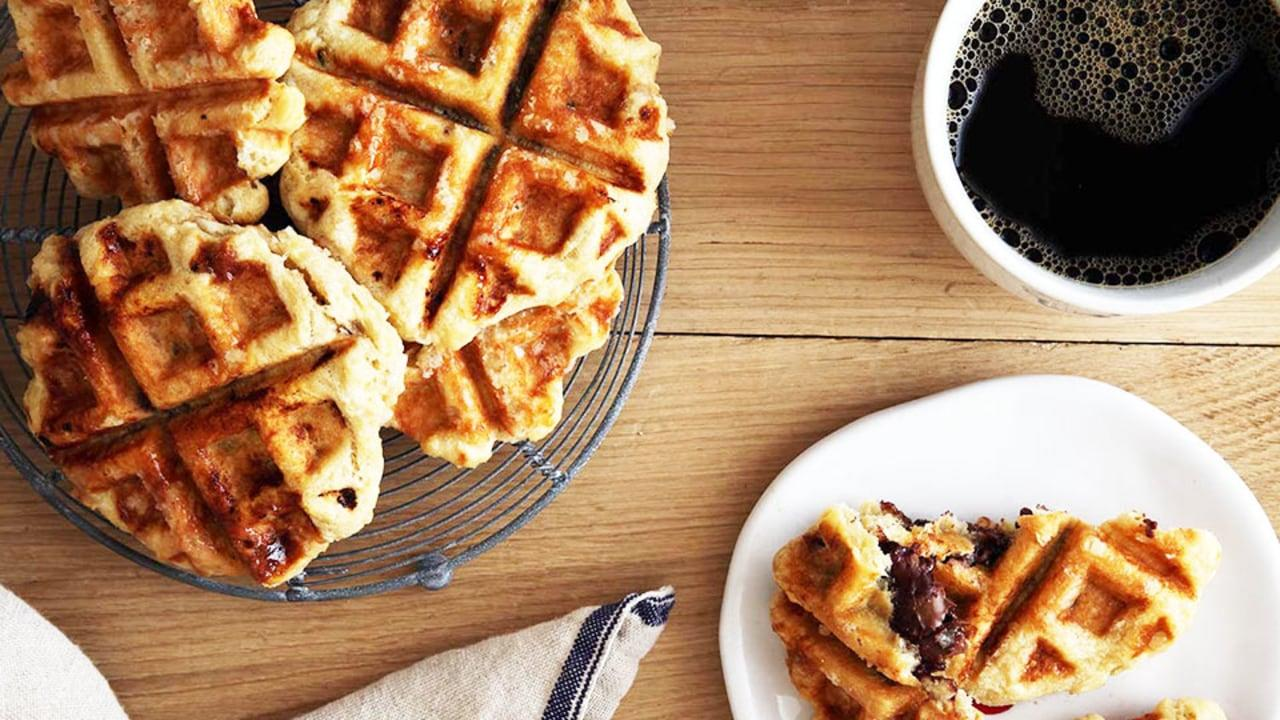 Give these delicious homemade waffles a shot this weekend  no crowded, overpriced restaurant required.