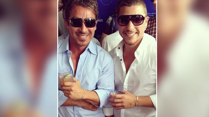 John Ibrahim (left) was not arrested but his son Daniel was. Picture: Instagram