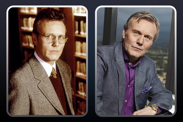"""<a href=""""/anthony-head/contributor/30602"""">Anthony Head</a>  (""""Rupert Giles"""") — THEN: As Buffy's Watcher, Giles both trained her and fought by her side. // NOW: The English actor went on to appear in many shows in the U.K. including Merlin. He next appears as a smarmy boss on NBC's fall comedy """"<a href=""""/free-agents/show/47392"""">Free Agents</a>."""""""