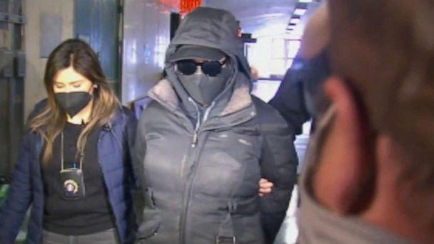 PHOTO: New York City Department of Correction captain Rebecca Hillman surrendered to authorities on April 26, 2021, for her alleged role in the suicide of Manhattan Detention Complex inmate Ryan Wilson. (WABC)