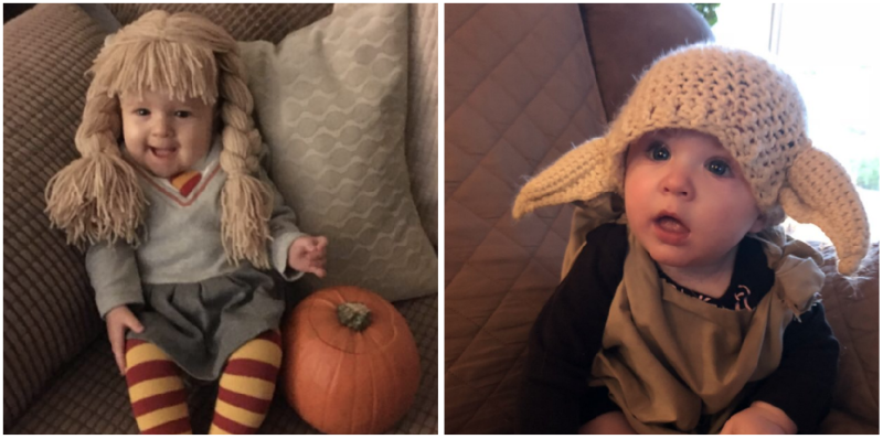 J.K. Rowling Can't Get Enough Of Babies Dressed As 'Harry Potter' Characters For Halloween