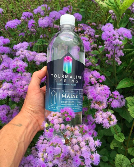 A brand of raw spring water on sale in the US. Photo: Instagram