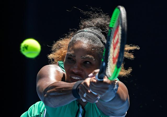 Serena Williams narrated Nike's latest female empowerment commercial. (AP Photo/Andy Brownbill)