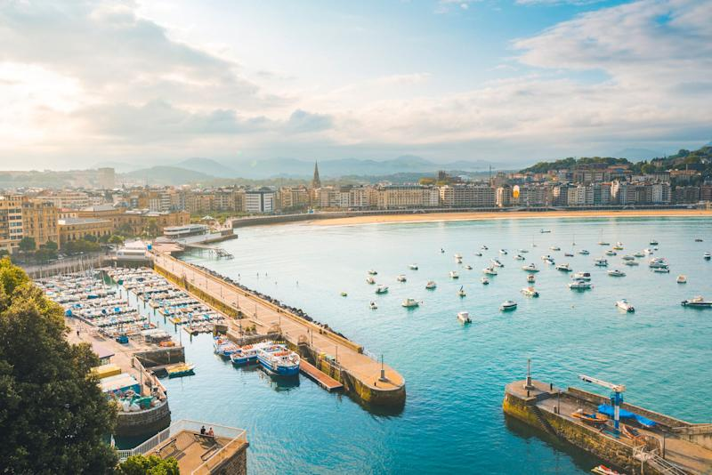 La Concha bay, San Sebastian, Spain. <i>(Photo: Getty)</i>