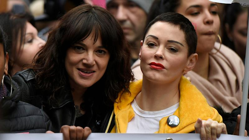 Asia Argento denies sexual assault tale, says payoff was Anthony Bourdain's idea