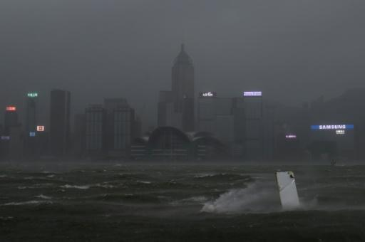 Four dead as typhoon smashes into Macau and Hong Kong
