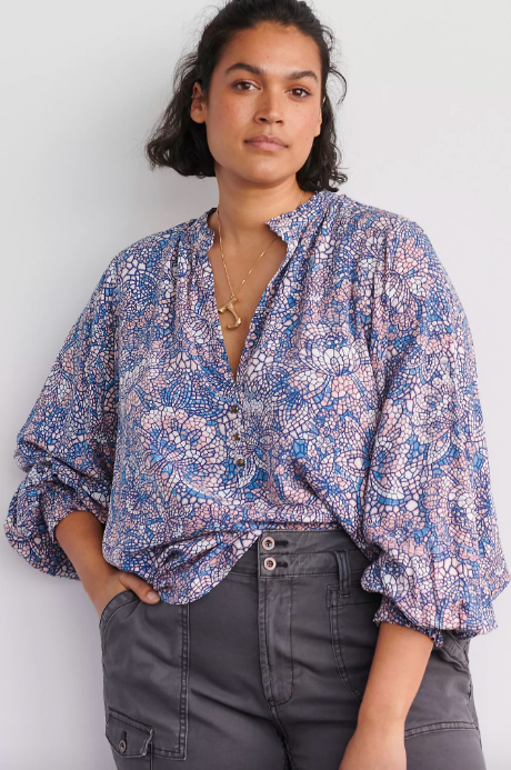 Colette Peasant Blouse. Image via Anthropologie.