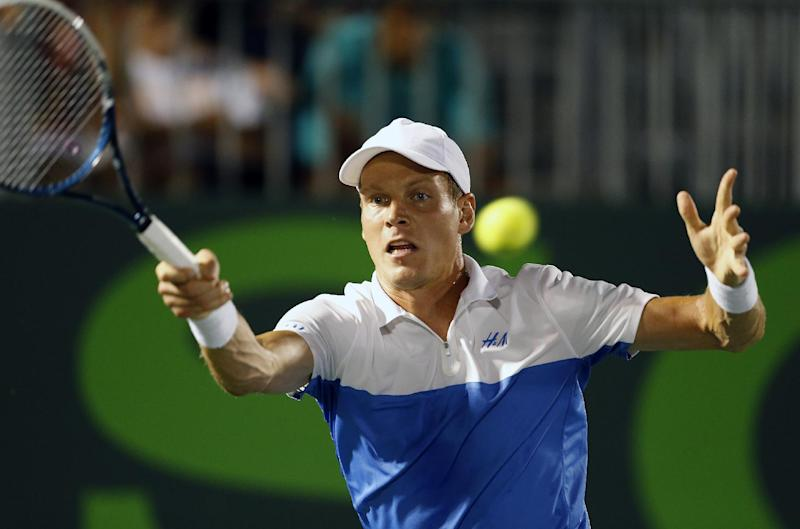 Czechs to play Japan without Berdych in Davis Cup