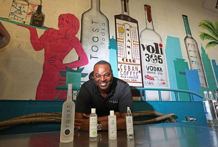 Due to the coronavirus pandemic Toast distillers began using their alcohol distilling facility to produce hand sanitizer. It is mostly for sale but they have donated as well.
