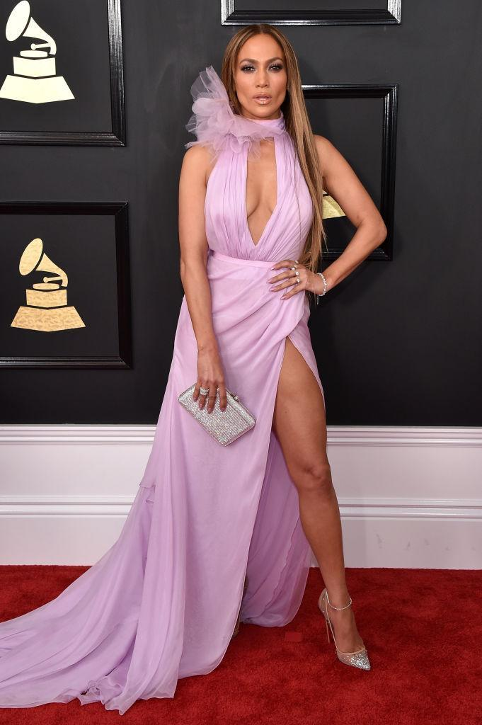 Jennifer Lopez in Ralph & Russo. (Photo: Getty Images)