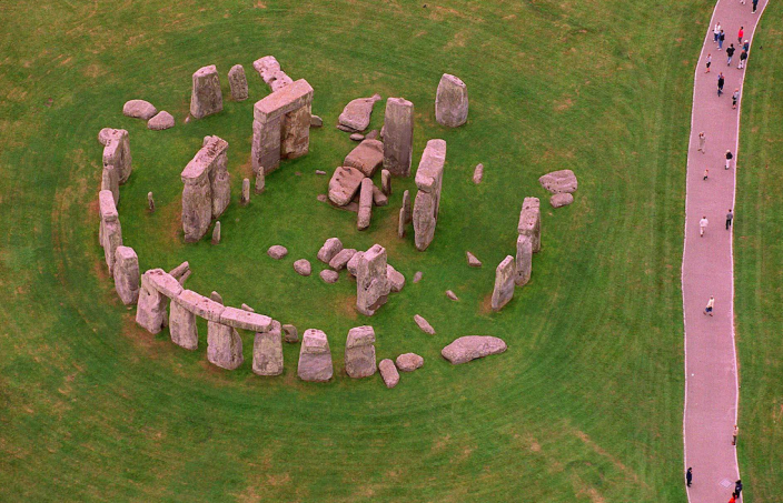 Stonehenge, located near Amesbury, Wilts., is estimated to have been built around 3,000 BC. (SWNS)