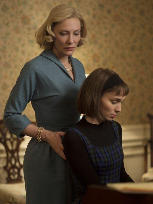"<p>Based on a book by Patricia Highsmith, <em>Carol</em> tells the story of an affair between a young photographer and an older woman in the process of divorce. It takes place in the '50s, so it's great for movie fans who love looking at period fashions.</p><p><a class=""link rapid-noclick-resp"" href=""https://www.netflix.com/title/80058700"" rel=""nofollow noopener"" target=""_blank"" data-ylk=""slk:WATCH NOW"">WATCH NOW</a></p>"