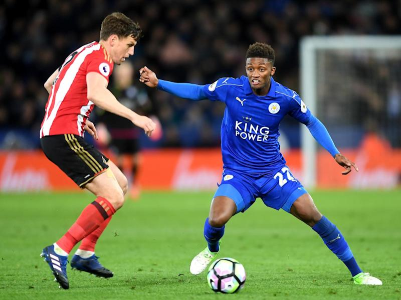 Demarai Gray was lively once again for Leicester (Getty)