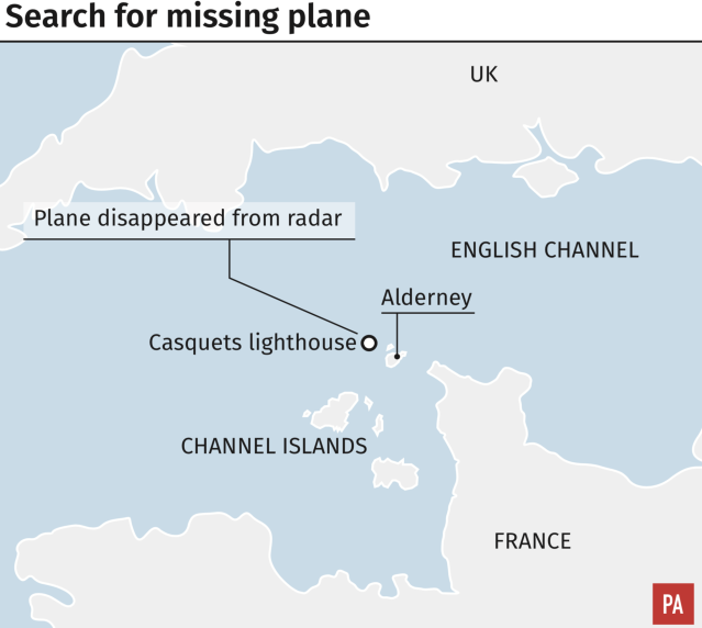 How the plane went missing (Press Association)