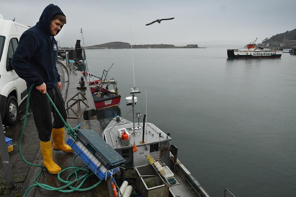 <p>Scottish Fishermen's Federation (SFF) chief executive Elspeth Macdonald accused Mr Johnson of misleading the public about the agreement</p> (Getty Images)