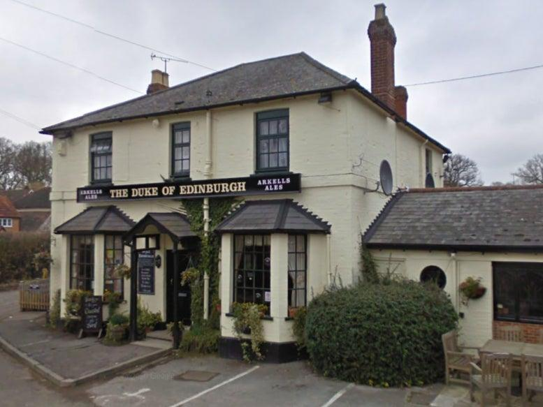 <p>The Duke of Edinburgh pub between Ascot and Windsor will toast the prince when it reopens</p> (Google)
