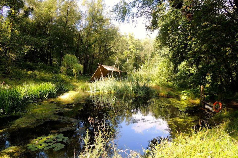 <p>Whether you're planning an outdoorsy hen do, a romantic break or a post-lockdown family reunion, there's a glamp-site for you. We've picked our favourite luxury tents, shepherd's huts and caravans all over Britain…</p>