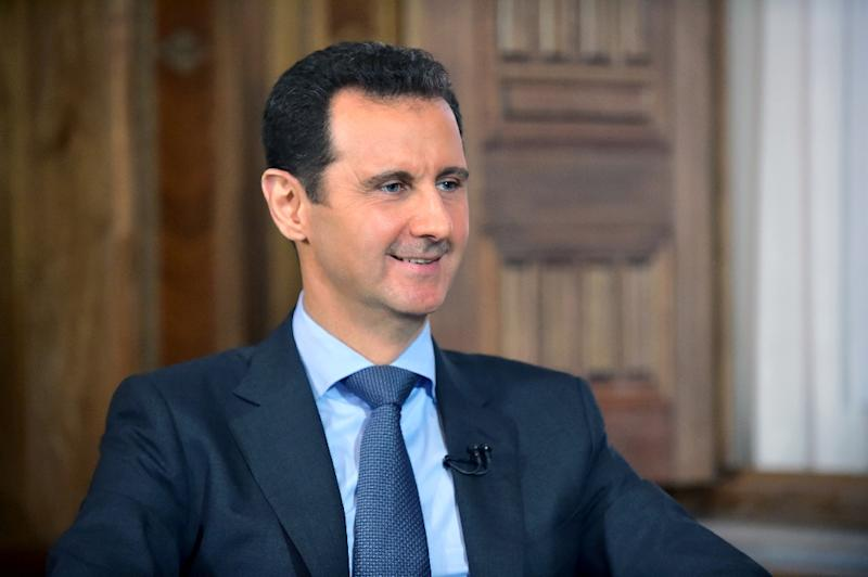 The US and its allies blame embattled leader Bashar al-Assad Assad for the mayhem in Syria but have refused to put boots on the ground, despite the chaos after four years of intense bloodshed (AFP Photo/)