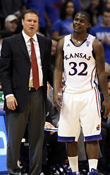 Bill Self admitted Josh Selby isn't quite up to speed, but won't argue with the results