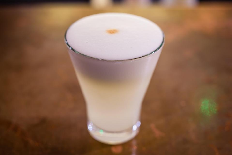 Latin American all-stars: Pisco sours are among the classics on the menu (Paul Winch-Furness)