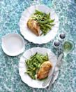 """<p>How to Make Your Chicken Breasts Less Boring 101: Make a quick white wine pan sauce and pair them with a side of bright, green spring veggies. </p><p><a href=""""https://www.goodhousekeeping.com/food-recipes/a12115/skillet-chicken-spring-vegetables-recipe-clx0315/"""" rel=""""nofollow noopener"""" target=""""_blank"""" data-ylk=""""slk:Get the recipe for Skillet Chicken and Spring Vegetables »"""" class=""""link rapid-noclick-resp""""><em>Get the recipe for Skillet Chicken and Spring Vegetables »</em></a><br></p>"""
