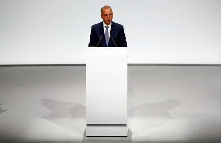 German drug and crop chemical maker Bayer holds annual general meeting