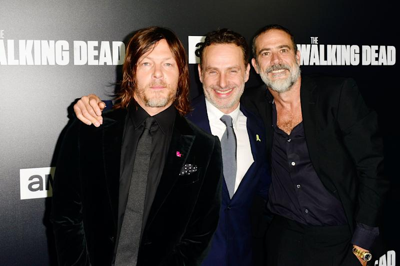 Norman Reedus, Andrew Lincoln, and Jeffrey Dean Morgan