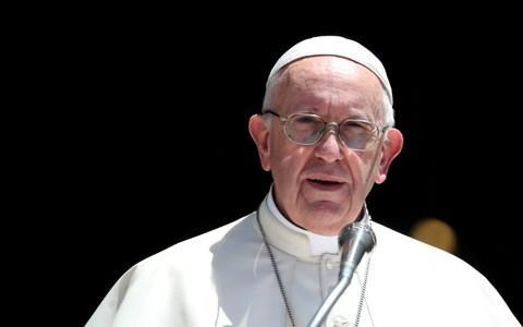 <span>It is the first time a pope had written to all of the world's some 1.2 billion Catholics about sexual abuse</span> <span>Credit: Tony Gentile/REUTERS </span>