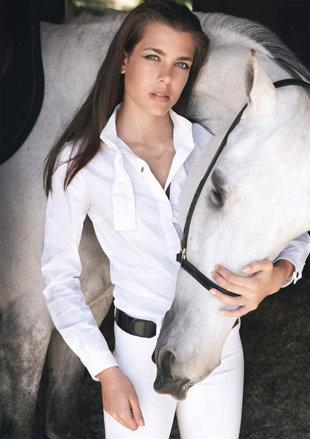 <b>1. Charlotte Casiraghi</b><br><br><b>Of:</b> Monaco<br><br><b>Age</b>: 25<br><br>Charlotte Casiraghi is the daughter of Princess Caroline of Hanover and Hereditary Princess of Monaco and Lt. Stefano Casiraghi. So striking are her looks that she instantly reminds people of her maternal grandmother, the legendary Grace Kelly. She almost matches the elegance and beauty that Grace Kelly was famous for. Charlotte, who is fourth in line of succession to the throne of Monaco, served as the editor of 'Above', a luxury magazine in London, and is reportedly very close to celebrated fashion designers Karl Lagerfeld and Valentino, which explains her very fashion forward appearances at various events.