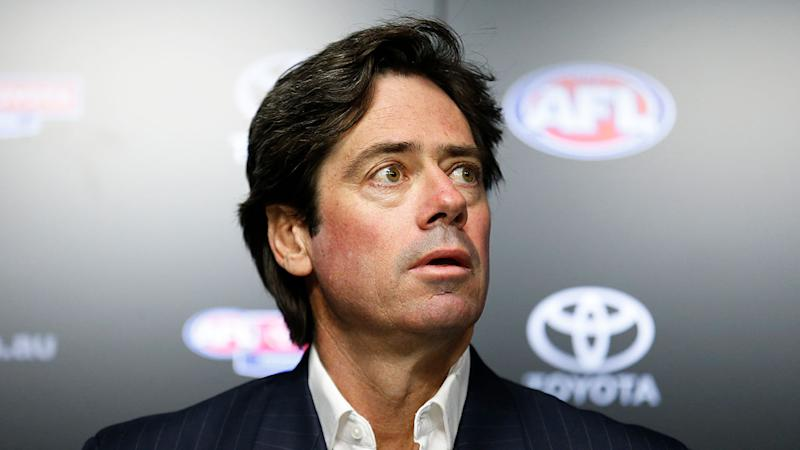 Gillon McLachlan says more work is needed despite the AFL's $500m deal with banks. Pic: Getty