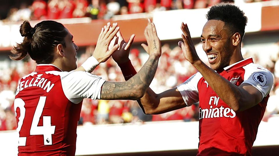 Pierre-Emerick Aubameyang was the only bright spark in a Gameweek dominated by disappointment.