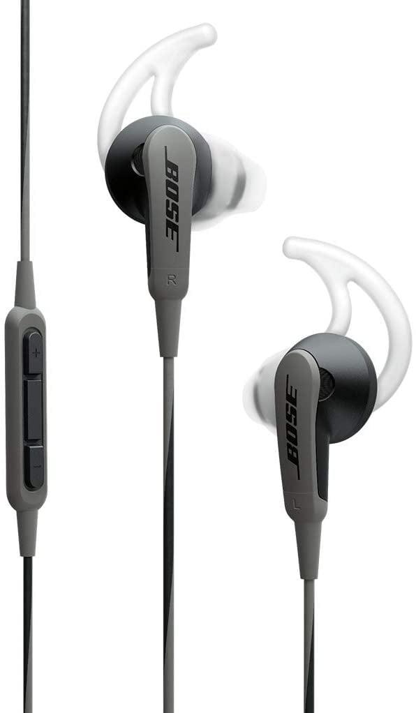 """<p>It can be hard to find headphones that fit your ears and make sense for the style of training you like to do. Rebecca Brown, senior editor, recommends the <span>Bose in-Ear Headphones/Earphones</span> ($300) for running. </p> <p>""""I have struggled my entire life to find the right headphones for running because they always slip out of my ears. And with the added mask around my face this year, my usual use-a-sweatband-to-hold-the-earbuds-in-my-ear trick wouldn't work - there were just too many elastic pieces going every which way. I splurged on these Bose in-ear headphones and they've completely changed my running. For whatever reason, they NEVER slip out of my ears and they've enabled me to focus on running instead of fiddling with my ears the entire run.""""</p>"""