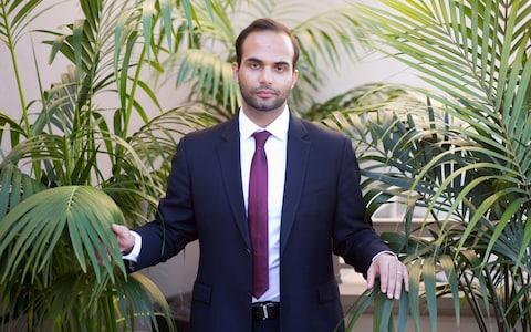<span> George Papadopoulos, the former Trump campaign foreign policy adviser</span> <span>Credit: Rupert Thorpe </span>