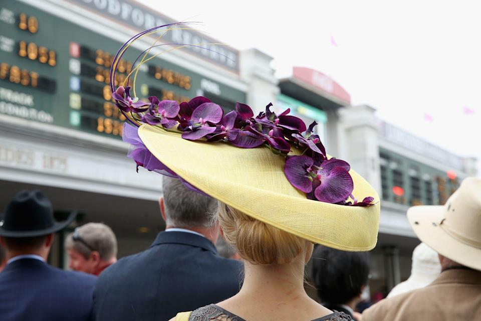 """<p>Let's be honest: <a href=""""https://www.townandcountrymag.com/style/fashion-trends/news/g2110/kentucky-derby-hat/"""" rel=""""nofollow noopener"""" target=""""_blank"""" data-ylk=""""slk:the Kentucky Derby is all about hats."""" class=""""link rapid-noclick-resp"""">the Kentucky Derby is all about hats.</a> There's horse racing involved, yes, and of course some <a href=""""https://www.townandcountrymag.com/leisure/drinks/how-to/g1261/kentucky-derby-party-southern-cocktails/"""" rel=""""nofollow noopener"""" target=""""_blank"""" data-ylk=""""slk:classic bourbon cocktails"""" class=""""link rapid-noclick-resp"""">classic bourbon cocktails</a> and <a href=""""https://www.townandcountrymag.com/leisure/dining/g31122683/kentucky-derby-food-ideas/"""" rel=""""nofollow noopener"""" target=""""_blank"""" data-ylk=""""slk:delicious Southern food"""" class=""""link rapid-noclick-resp"""">delicious Southern food</a>, but <a href=""""https://www.townandcountrymag.com/style/g9269048/kentucky-derby-dresses/"""" rel=""""nofollow noopener"""" target=""""_blank"""" data-ylk=""""slk:it's the Derby day fashion"""" class=""""link rapid-noclick-resp"""">it's the Derby day fashion</a> that everyone is talking about long after the winning horse and jockey are crowned. The day offers an opportunity to go over the top in our prettiest, preppiest get-ups, embracing color, flounce, and fun in a way that many of us don't get to do in our every day lives. And while the dresses of course count for a lot, it's really the hats that take Derby day from """"fun garden party"""" to """"a day to remember."""" A dynamic, outfit-making hat is the key <a href=""""https://www.townandcountrymag.com/style/fashion-trends/g669/kentucky-derby-style/"""" rel=""""nofollow noopener"""" target=""""_blank"""" data-ylk=""""slk:to any Derby ensemble—"""" class=""""link rapid-noclick-resp"""">to any Derby ensemble—</a>and honestly, how often do you get to embrace your inner hat-person to quite this degree? </p><p>Whether you're at Churchill Downs or hosting a Derby party on your own, here are some show-stopping hats and fascinators to don while you watch the Run for the Ro"""