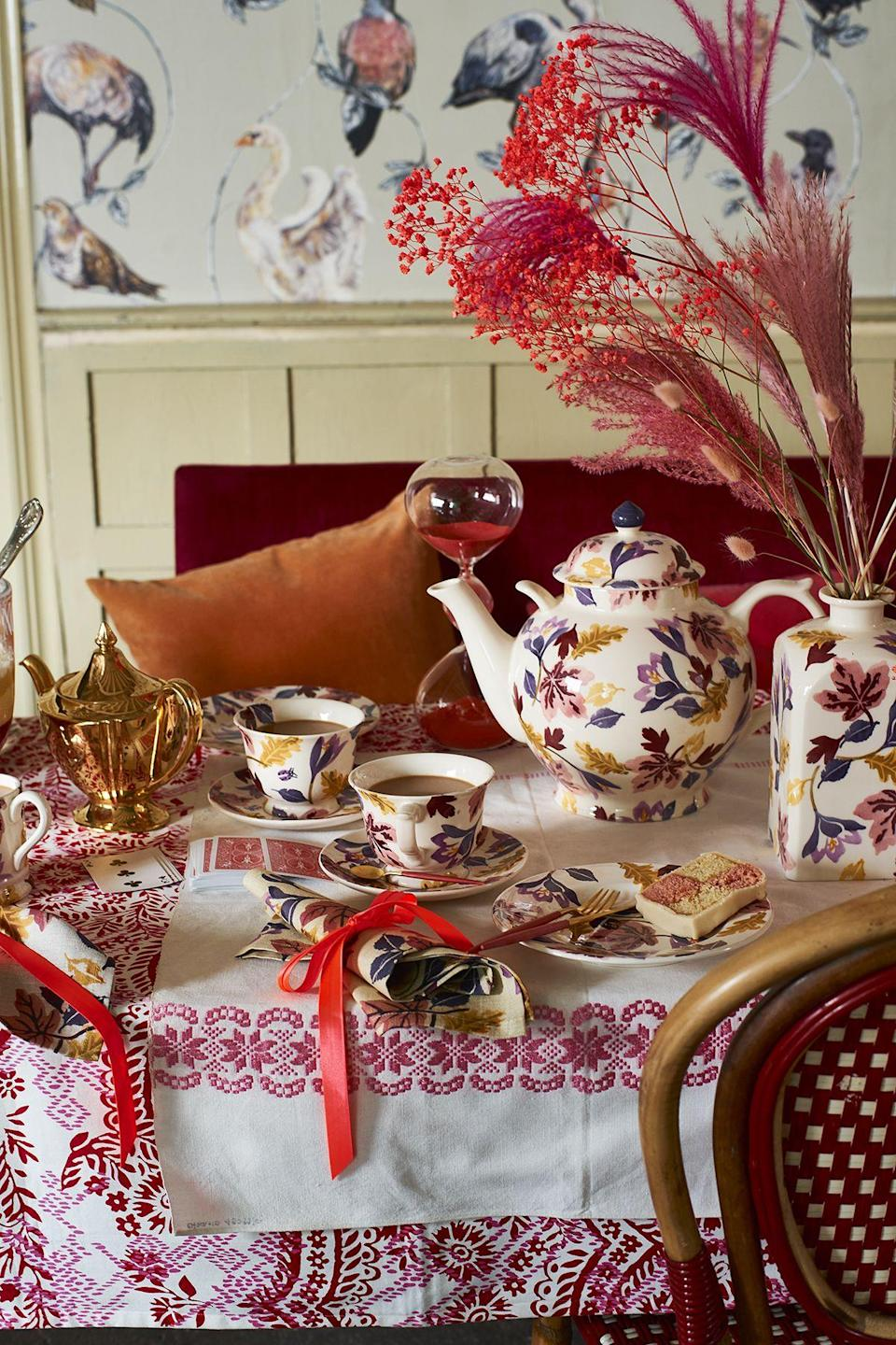 """<p><strong>Emma Bridgewater has just released its must-have <a href=""""https://www.housebeautiful.com/uk/garden/plants/a37370859/autumn-plants-chelsea-flower-show-garden/"""" rel=""""nofollow noopener"""" target=""""_blank"""" data-ylk=""""slk:autumn"""" class=""""link rapid-noclick-resp"""">autumn</a> 2021 collection — and we'll take one of everything. Whether you're on the hunt for some gorgeous new mugs, plates or bowls, there is plenty to choose from.</strong></p><p>The famous British pottery brand, which is designed and manufactured in Stoke-on-Trent, is giving homeware fans a real treat with plenty of new designs. Take a look at some of our favourites below. Happy shopping!</p>"""